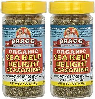 Bragg, Organic Sea Kelp Delight Seasoning, 2.7 oz (76.5 g) - 2pc