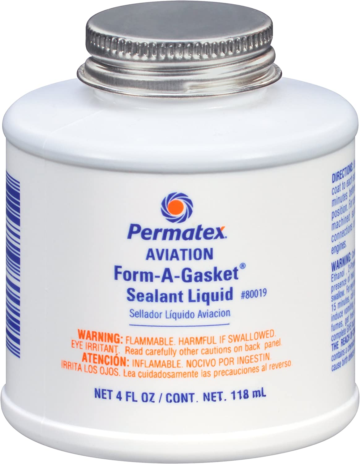 Attention brand Permatex 80019 NEW before selling ☆ Aviation Form-A-Gasket No. 3 4 oz. Sealant