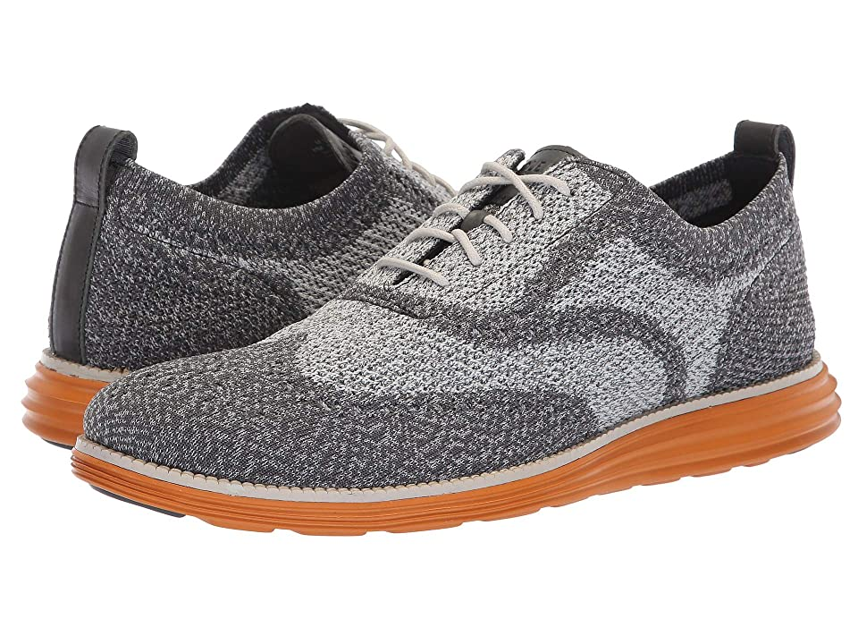 Cole Haan Original Grand Stitchlite Wingtip Oxford (Magnet/Vapor Grey/Golden Oak) Men