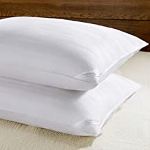 downluxe Down Alternative King Size Bed Pillows - Set of 2 Hotel Collection Plush Pillows for Sleeping, 20x36