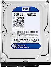 WD Blue 500GB  Desktop  Hard Disk Drive - 7200 RPM SATA 6 Gb/s 16MB Cache 3.5 Inch  - WD5000AAKX