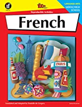 Carson Dellosa | The 100 Series: French Workbook | Grades 6-12, 128pgs