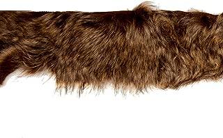 Expo International 4in Faux Fox Fur Trim Light Brown