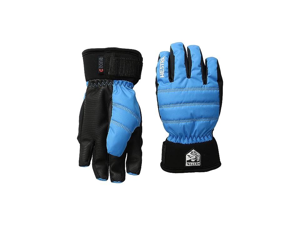 Hestra Czone Primaloft Junior (Turquoise) Ski Gloves