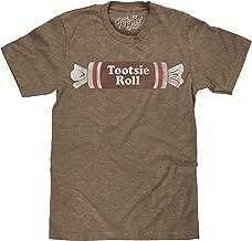 Tee Luv Tootsie Roll Shirt - Retro Tootsie Roll Candy Logo T-Shirt