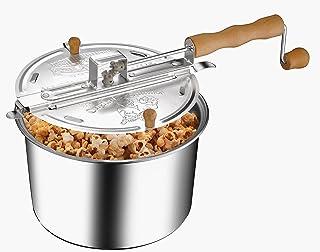 6250 Great Northern Popcorn Original Spinner Stovetop 6 1/2 Quart Popcorn Popper - Theater Popcorn at Home!