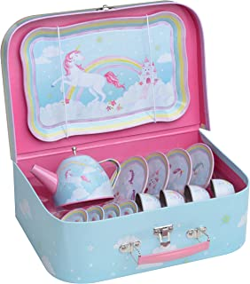 Best unicorn tin tea set Reviews