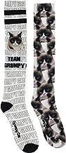 K. Bell Women's Grumpy Cat Faces Knee High Socks (2 Pr) One Size