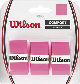WILSON WRZ4005PK PRO Over Grip, 3 Piece Pink
