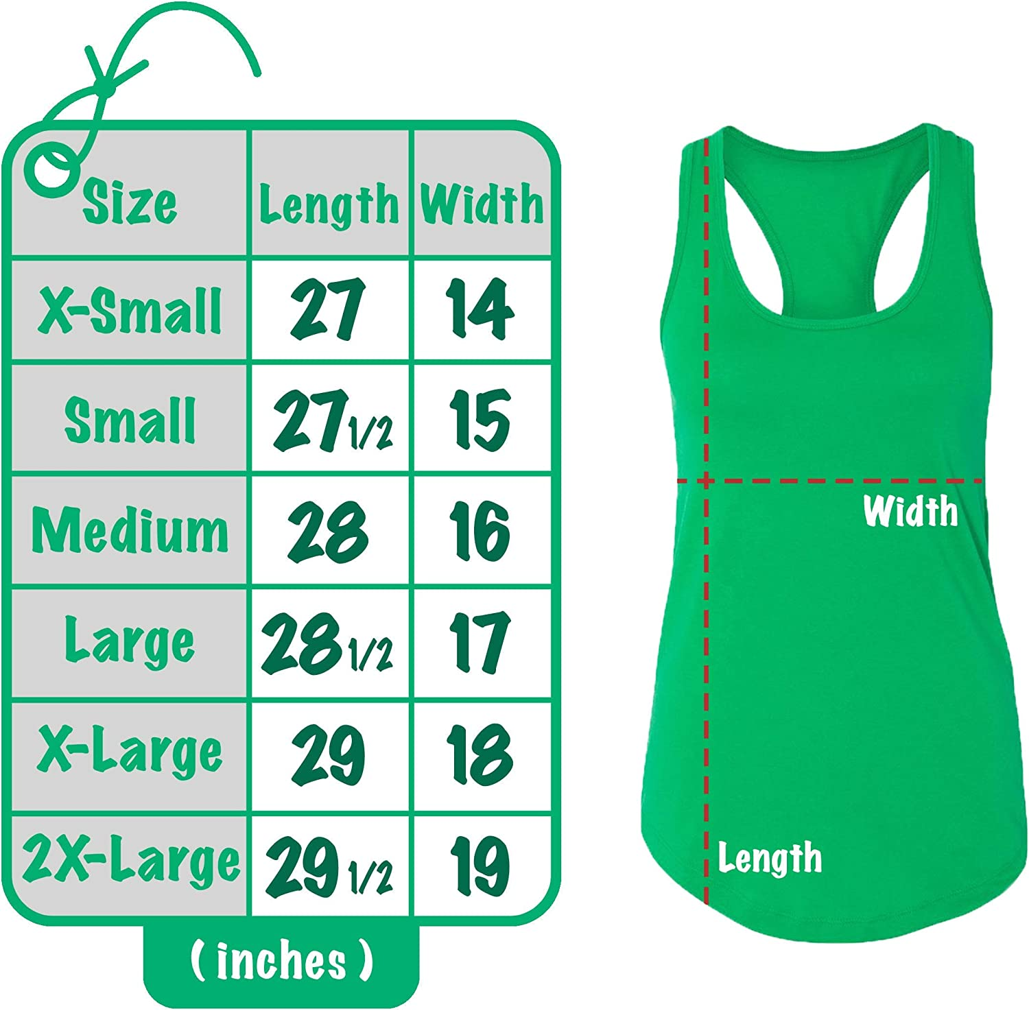 Racerback Personalized Saint Patrick Day Tank Tops Add Your Name /& Number