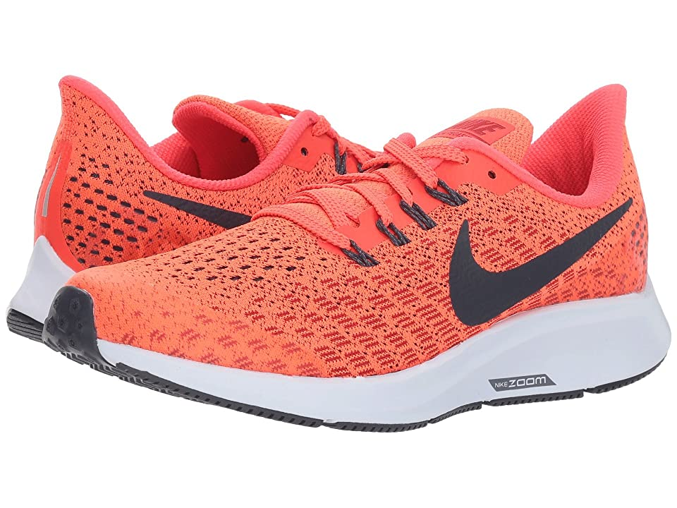 Nike Kids Air Zoom Pegasus 35 (Little Kid/Big Kid) (Bright Crimson/Gridiron/Gym Red) Boys Shoes