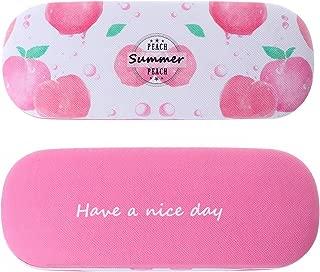 Sightbetter Cute Fruit Portable Eyeglasses Case Hard Box for Women Girls and Kids Sunglasses Holder