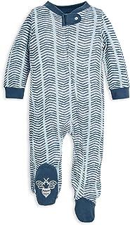 Baby Boys' Sleep and Play Pjs, 100% Organic Cotton...