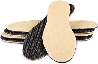 semelles thermiques avec couche daluminium et laine dagneau biped 2 paires de semelles int/érieures extra larges pour lhiver pour bottes et chaussures de randonn/ée z2728