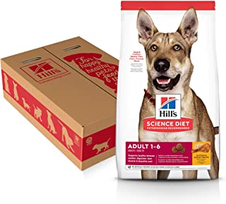 Hill's Science Diet Adult Dry Dog Food, Chicken & Barley Recipe, 35 lb bag