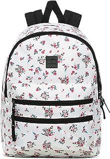 Vans Women's SCHOOLIN IT Backpack, Beauty Floral Marshmallow, OS