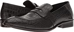 Black Patent Croco Leather