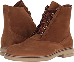 Etro Suede Lace-Up Boot