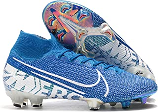 2019 Men's Soccer Cleats Mercurial Superfly 7 Elite FG Blue/White