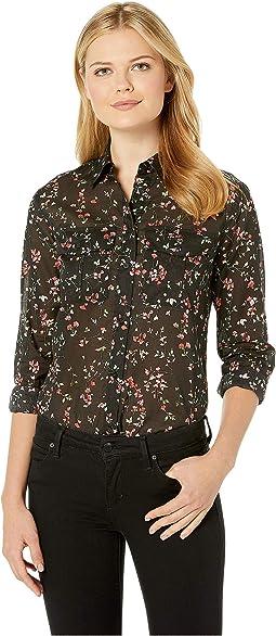 Floral Cotton Voile Shirt