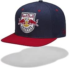 Red Bull Salzburg Median Flat Cap, Azul Unisexo Talla única Flat Cap, FC Salzburg Original Ropa & Accesorios