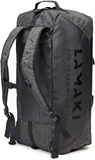 lamaki Holdall Duffel Bag Backpack Convertible Weekender Sports Travel Industrial Look Heavy Duty Versatile Expandable Men...