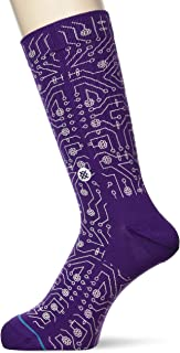 Stance Connector Crew Socks in Purple