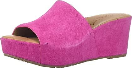 Gentle Souls Women's Forella Platform Slip on Sandal Slide