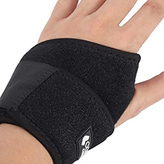 Copper Comfort Lined Wrist Support Glove - Adjustable Band Relieves Muscle Joint Tendon Pain, Guaranteed Highest Copper Content - Reduces Soreness, Stiffness, Arthritis, Tendonitis (Free Size)