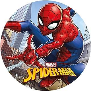 spiderman edible cake topper