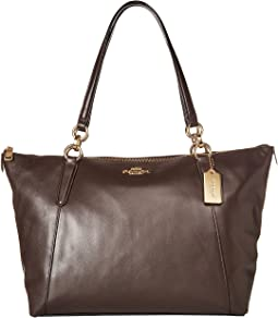 COACH Crossgrain Ava Tote,IM/Brown