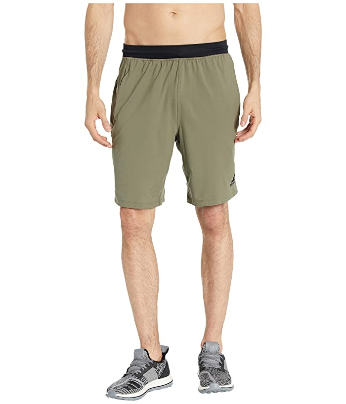 adidas 4KRFT Sport Ultimate 9 Knit Shorts (Raw Khaki) Men
