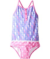 Hatley Kids - Seahorse Color Block Swimsuit (Toddler/Little Kids/Big Kids)