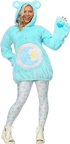 tienda en linea Care Bears Deluxe Bedtime Bear Hoodie Wohombres Wohombres Wohombres Fancy dress costume Medium  precios al por mayor