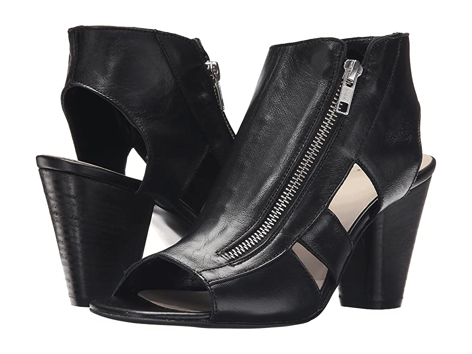 Summit by White Mountain Sherilyn (Black Leather) High Heels