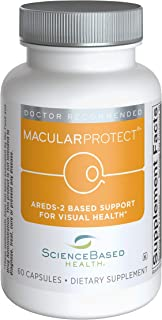 MacularProtect AREDS2 Vitamin & Mineral Supplement - 60 Capsules