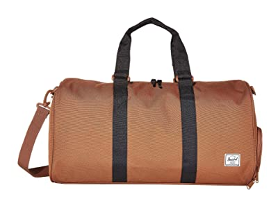 Herschel Supply Co. Novel Mid-Volume (Saddle Brown/Black) Duffel Bags