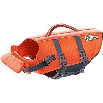 Outward Hound Dog Life Jackets - Beginner, Intermediate and Expert Swimmer Dog Life Vests