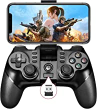 Vbepos Mobile Game Controller 2.4G Wireless Gamepad Bluetooth Gaming Joystick Compatible with iPhone iOS/ Android Phone/ P...