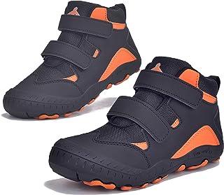 حذاء JACKSHIBO للأولاد والبنات للكاحل المشي لمسافات طويلة للأطفال في الهواء الطلق أحذية الرحلات، مقاوم للماء، المشي لمسافا...