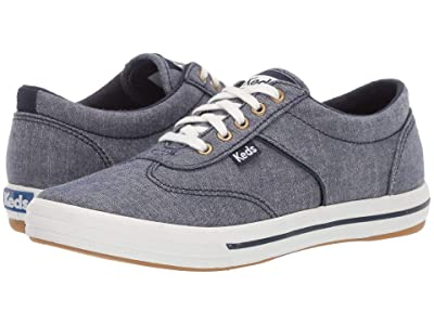 Keds Courty Chambray (Blue) Women