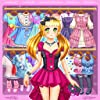 アニメとかわいいドレスアップ