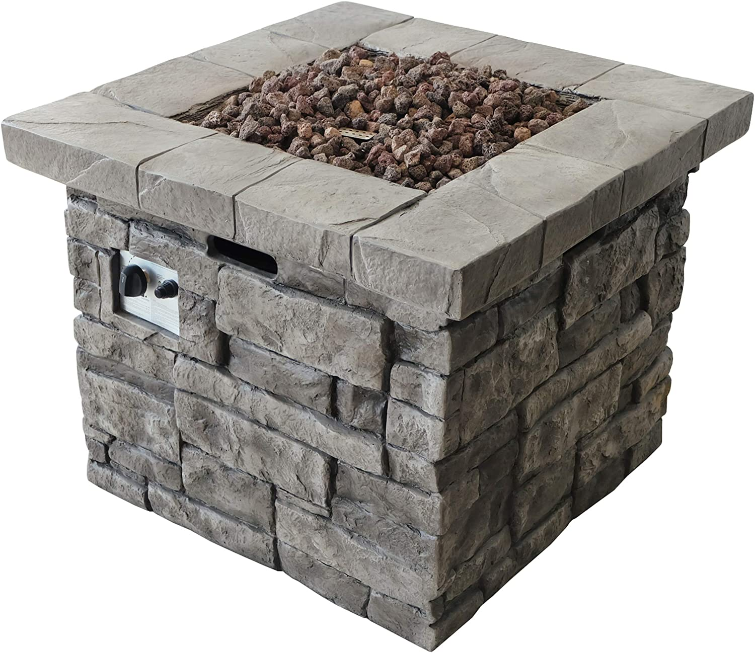 Christopher Knight Home Angeles Super Special SALE held Outdoor Square - 000 Pit 40 service Fire