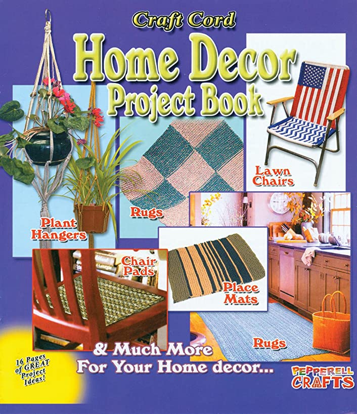Pepperell Craft Cord Home Decor Project Book, 9 Projects