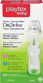 زجاجة رضاعة صحية من بلايتكس، 8-10 اونصة- ترقيم حتى 50، عبوة واحدة