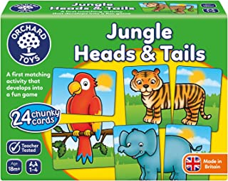 Orchard Toys 58 Jungle Heads & Tails Game