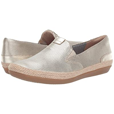 Clarks Danelly Iris (Champagne Leather) Women