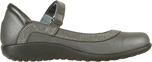 Shadow Gray Nubuck/Gunmetal Rivets/Metallic Road Leather