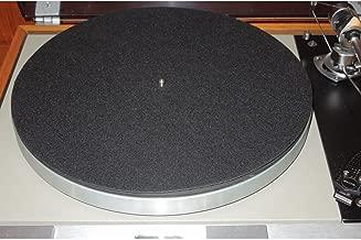 Amazon.com: Fibra de Carbono Turntable Record Mat: Home ...