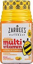 Zarbee's Naturals Children's Complete Multivitamin, Natural Fruit Flavors, 110 Gummies